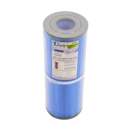 Filter 25 sqf 34x13x5cm hål microban