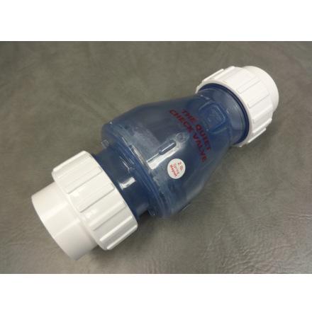 """PVC Backventil klar med magnet 2"""" CS"""