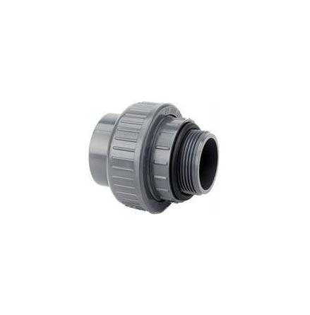 """PVC Union 63mm-2"""" utv oring"""