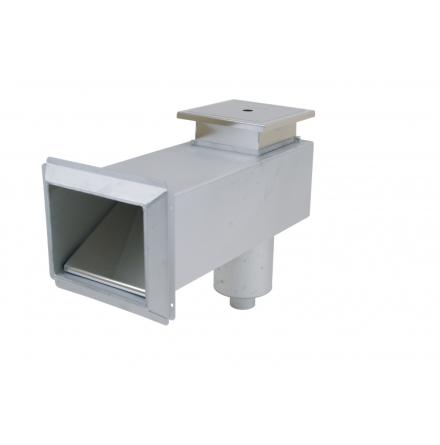 Bräddavlopp betongpool (förl.hals) RF