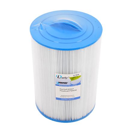 Filter 40 sqf 30x22x6 inv. gänga